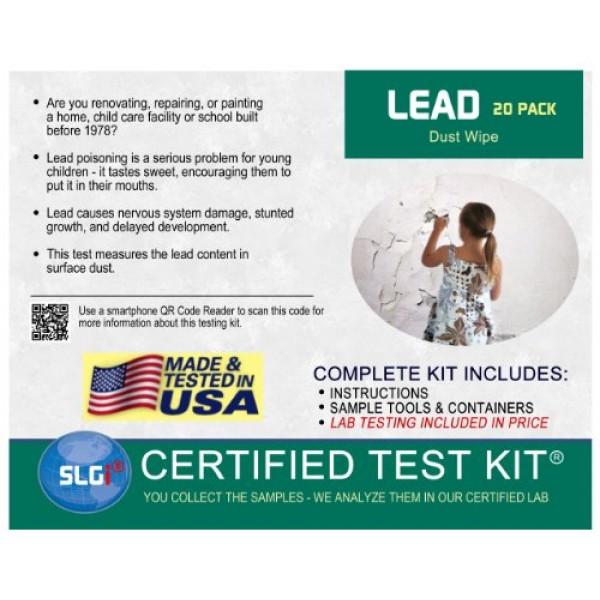 Schneider Labs Lead 20 PK Test Kit 1 Business Day
