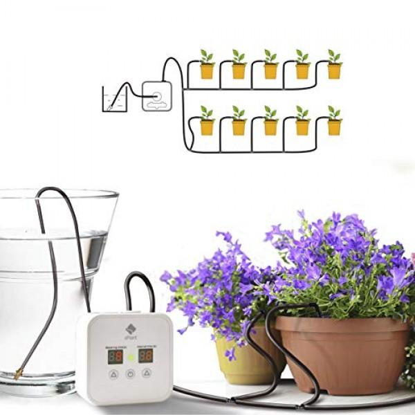 [Upgraded] Automatic Drip Irrigation Kit, Houseplants Self Waterin...