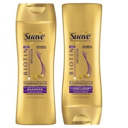 Suave Professional Biotin Infusion Strengthening Shampoo & Conditi...