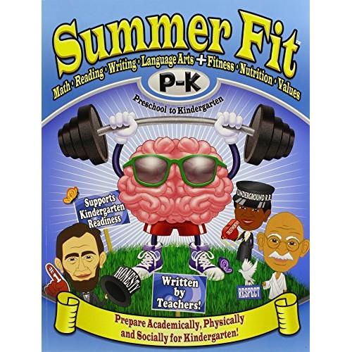 Summer Fit Preschool to Kindergarten: Math, Reading, Writing, Lang...