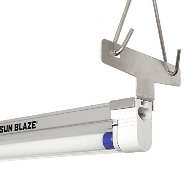 Sun Blaze T5 Fluorescent - 4 ft. Fixture | 1 Lamp | 120V - Indoor ...