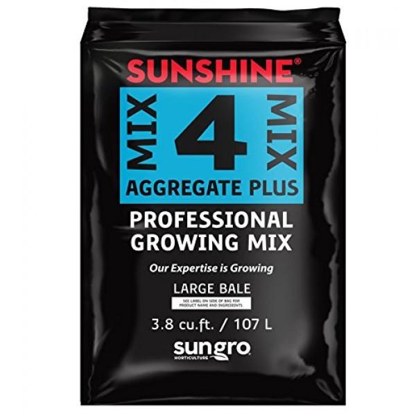 SunGro Horticulture SUGRMIX4 3.8-Cubic Feet Compressed Sungro Suns...