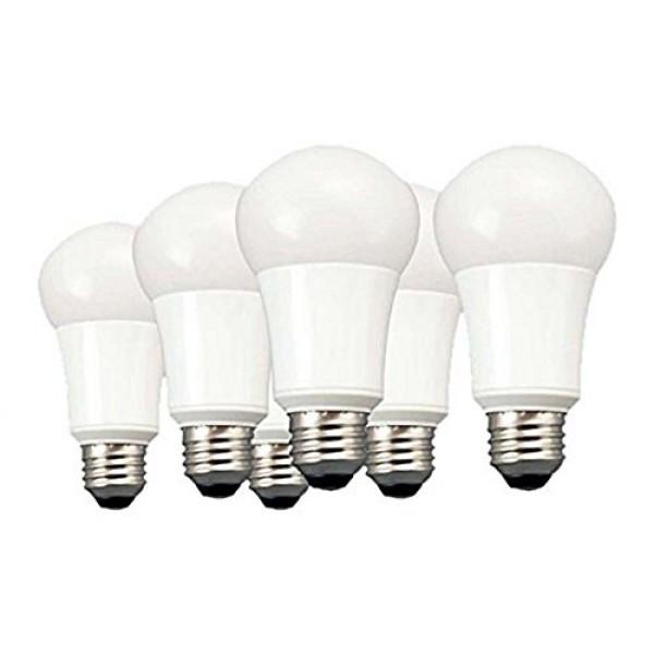 TCP 9W LED Light Bulbs 60 Watt Equivalent, A19 - E26, Medium Scr...