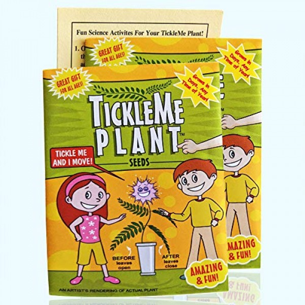TickleMe Plant Seeds Packets 2 for Party Bag or Christmas Stocki...
