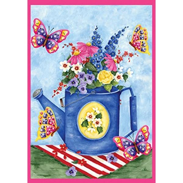 Toland Home Garden Butterfly Bouquet 28 x 40 Inch Decorative Sprin...