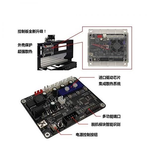 3 Axis GRBL 1.1 V3.4 USB Port CNC Engraving Machine Controller Boa...