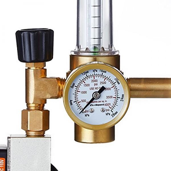 TopoLite Hydroponics CO2 Injection System Regulator Grow Room Flow...