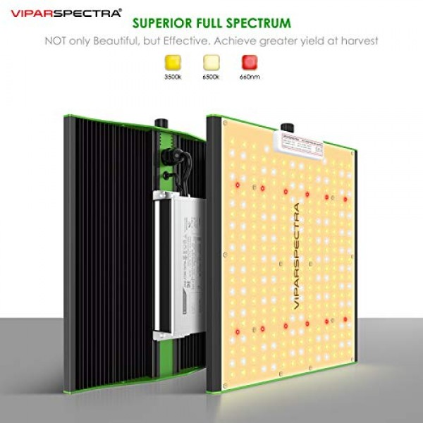 VIPARSPECTRA 2020 Pro Series P1000 LED Grow Light, with Upgraded 3...