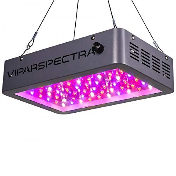 VIPARSPECTRA Newest Dimmable 600W LED Grow Light, with Daisy Chain...