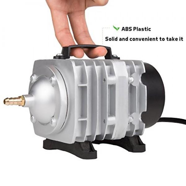 VIVOSUN Air Pump 950 GPH 32W 60L/min 6 Outlet Commercial Air Pump ...