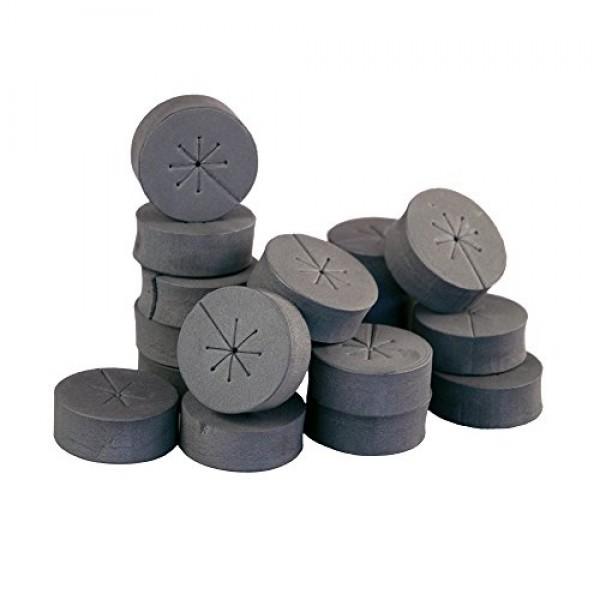 120 Pack 2 Black xGarden Clone Collars - Advanced Spoke Design - ...