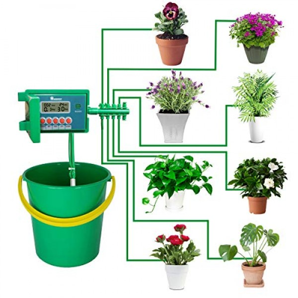 Yardeen Micro Automatic Drip Irrigation Kit Self Watering System S...