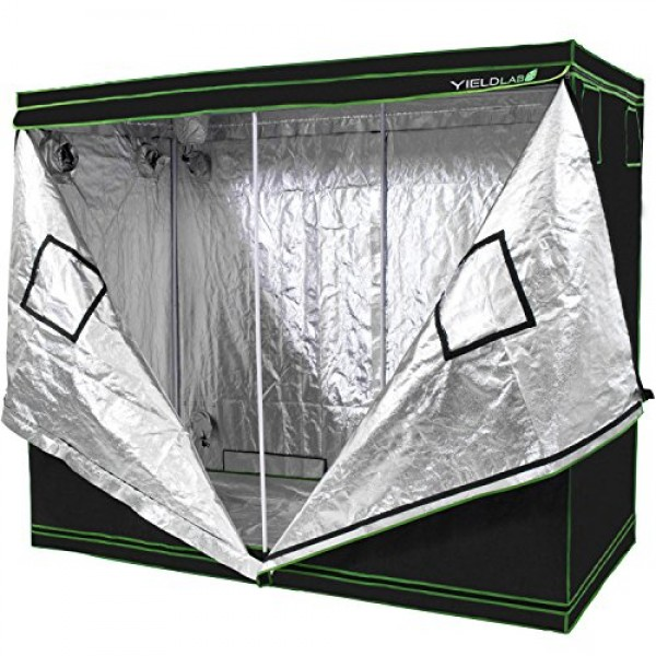 Yield Lab 96 x 48 x 78 Grow Tent with Viewing Window - for Indo...